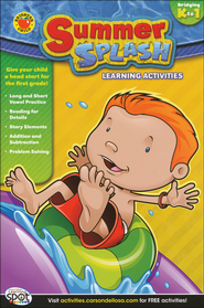 Summer Splash Learning Activities, Bridging K-1   -