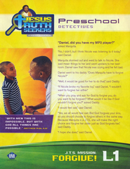 Jesus Truth Seekers VBS: Preschool Student Folders  -