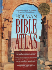Holman Bible Atlas   -     By: Thomas Brisco