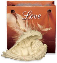 Angel-to-Go, Love, Gift Bagged  -