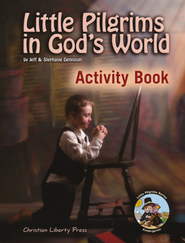 Little Pilgrims in God's World, Activity Book Kindergarten  -     By: Jeff Dennison, Stephanie Dennison