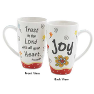 Trust in the Lord with All Your Heart, Joy Mug  -