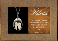 Courage Pendant, Gift Boxed, Spanish  -