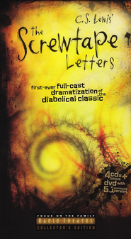 Radio Theatre: The Screwtape Letters (audio-drama on CD with DVD Documentary)  -     By: C.S. Lewis