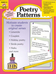Poetry Patterns Grades 3-6   -     By: Eleanor Orndorf
