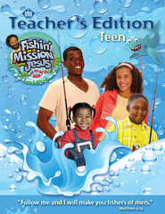 Fishin' on a Mission with Jesus: Teen Teacher Guide  -