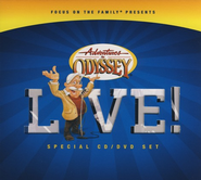 Adventures in Odyssey® Live! (Audio CD + DVD)   -