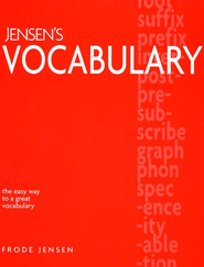 Jensen's Vocabulary   -     By: Frode Jensen