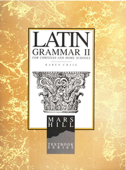 Latin Grammar #2 Student Text   -     By: Karen L. Craig