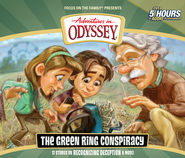 Adventures in Odyssey® #53: The Green Ring Conspiracy, CD   -     By: AIO Team