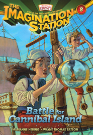 Adventures in Odyssey The Imagination Station® Series #8: Battle for Cannibal Island  -              By: Marianne Hering, Wayne Batson