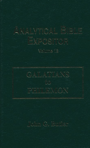 Galatians-Philemon: Analytical Bible Expositor   -     By: John G. Butler