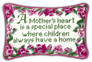 Mother's Heart Pillow  -