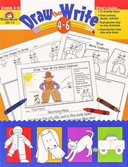 Draw Then Write, Grades 4-6   -