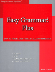 Easy Grammar Plus; Teacher's Edition  -              By: Wanda Phillips