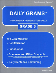 Daily Grams Grade 3   -     By: Wanda Phillips