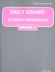 Daily Grams Grade 5 Workbook   -     By: Wanda Phillips