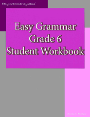 Easy Grammar Grade 6 Workbook   -     By: Wanda Phillips