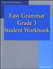 Easy Grammar Grade 3 Workbook   -     By: Wanda Phillips