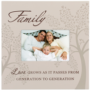 Family, Love Passes As it Passes Photo Frame  -
