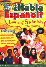 Habla Espanol? The Basics (Spanish 1), DVD   -