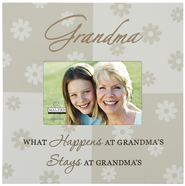What Happens at Grandma's Photo Frame  -