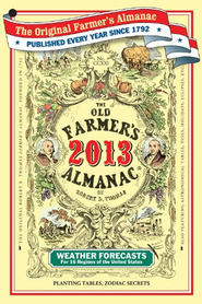 The Old Farmer's Almanac 2013  -