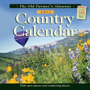 The Old Farmer's Almanac 2013 Country Calendar  -