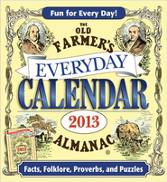 The Old Farmer's Almanac 2013 Everyday Calendar  -