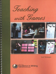 Teaching With Games (2 DVDs & Book)  -              By: Lori Verstegen