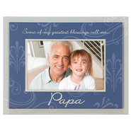 Some of My Greatest Blessings Call me Papa Photo Frame  -