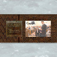 Faithful Servant Metal Photo Frame  -