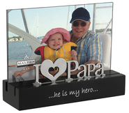 Papa, He is My Hero Photo Frame  -