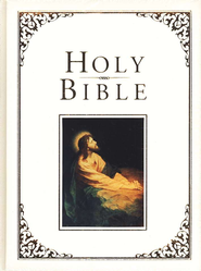 Holman KJV Family Bible White - Imperfectly Imprinted Bibles  -
