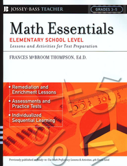 Math Essentials, Elementary School Level: Lessons and Activities for Test Preparation, Grades 3-5  -     By: Frances MacBroom Thompson