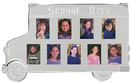 School Days, School Bus Photo Frame  -