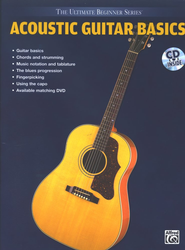 Acoustic Guitar Basics Book, Audio CD & DVD   -