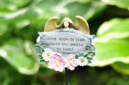Leave Room in Your Garden, Garden Stake     -