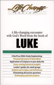 Luke, LifeChange Bible Study Series  -