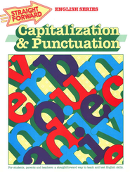 Straight Forward Capitalization and Punctuation    -