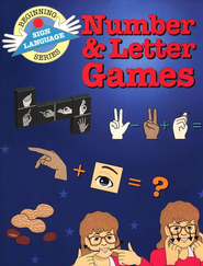 Number & Letter Games, Beginning Sign Language Series   -