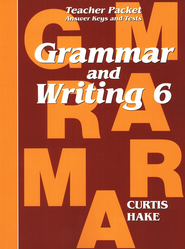 Hake's Grammar & Writing Grade 6 Teacher Packet  -     By: Stephen Hake, Christie Curtis, Mary Hake