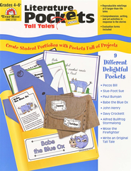 Literature Pockets, Tall Tales, Grades 4-6   -     By: Homeschool