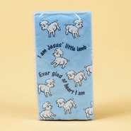 Jesus' Little Lamb, Tissue  -