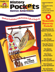History Pockets: Native Americans, Grades 1-3   -