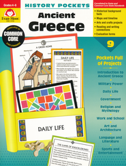 History Pockets: Ancient Greece, Grades 4-6   -