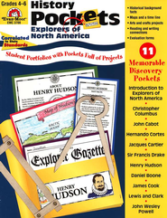 Explorers of North America, Grades 4-6   -