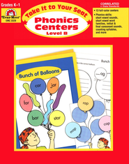 Take It to Your Seat: Phonics Centers, Grade 1    -