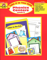 Take It to Your Seat: Phonics Centers, Grades 1-2   -