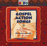 Gospel Action Songs, Compact Disc [CD]   -     By: Cedarmont Kids